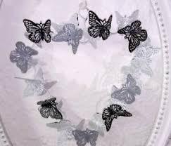 Details Zu Deko Herz Schmetterlinge Metall Fensterdeko Shabby Chic Deko Landhaus Vintage