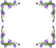 spring flowers border clipart. Interesting Border Free Flower Borders  Border Clipart Inside Spring Flowers A