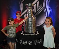 Abigail Mills, Gage Mills, Molly Mills - Abigail Mills Photos - NHL  Trophies Displayed At The Hard Rock Hotel & Casino Ahead Of The 2018 NHL  Awards - Zimbio