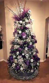 Purple And White Christmas Decorations Nightmare Before Christmas  Decorations on Decorating The Christmas