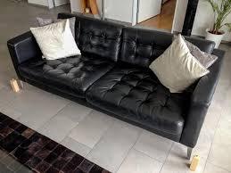 amazing of ikea black leather sofa ikea leather sofa stoney creek design