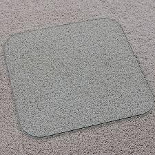 vitrazza premium super strong glass chair mat