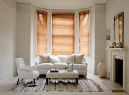 Living Room Blinds Wood Venetian Shadow Blinds