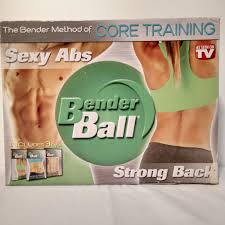 details about as seen on tv core training y abs w bender ball workout dvd strong back