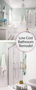 cost to remodel a bathroom diy