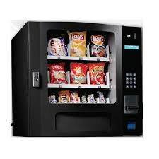 Countertop Soda Vending Machine Gorgeous Seaga SM48SB Countertop 48 Select Snack Vending Machine With Coin