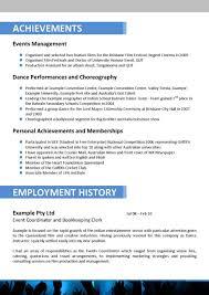 Resume Resume Event Coordinator