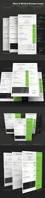 best ideas about lance invoice template metro style business invoice 04 attractive beautiful business cmyk creative