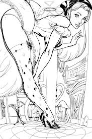 Small Picture Tim Burtons Alice In Wonderland Coloring Page Were All Mad