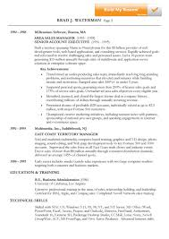 Non Chronological Sample Resume Templates Chronological