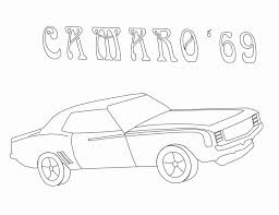 Small Picture 69 Camaro Coloring Pages