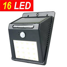 textured black outdoor motion sensor wall light fixture w photocell loading zoom activated