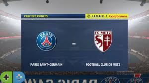 PSG vs Metz (Football Club de Metz) (16/9/2020) Ligue 1 Canforama FIFA 20  PS4 Gameplay Prediction - YouTube