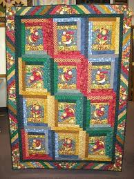 Baby Quilt Panels Ebay Quilt Fabric Panels Baby Longarm Quilting ... & ... Quilts With Panels Ideas Baby Quilts Made With Panels Quilt Panel Cut  Apart And Used Log ... Adamdwight.com