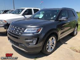 2016 magnetic metallic ford explorer limited automatic 4 door 3 5l 6 cylinder smpi dohc