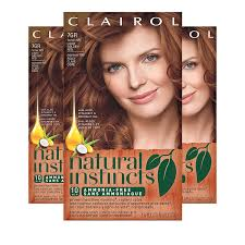 Natural Instincts Light Golden Red Clairol Natural Instincts Hair Color 7gr 15rg Golden Sienna Light Golden Red Semi Permanent Hair