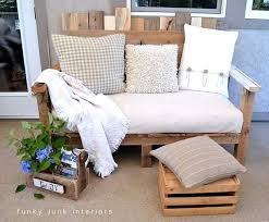 diy sofas and couches pallet wood outdoor sofa easy and creative furniture and home