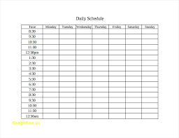 Daily Time Table Daily Timetable Schedule Polar Explorer