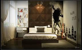 3d bedroom design. Bedroom, Fancy Small Bedroom Design With Divine Brown Headboard Idea Plus Splendid Downlight Even 3d