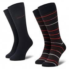 Набор из <b>2</b> пар высоких мужских <b>носков BOSS</b> - 2P Rs <b>Stripe</b> Cc ...