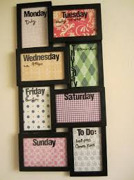 Bedroom, Marvelous Cool Diy Projects For Your Room Diy Bedroom Wall Decor  Schedule Frame: