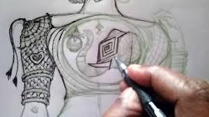Saree Blouse Design Sketches Fashion Tailor Sketch Ideas Design For Back Neck Saree