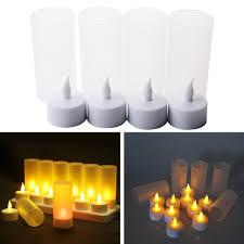Đèn LED giả đèn cầy lập lòe không lửa 12 đế sạc pin trang trí nhà cửa/tiệc  cưới/tiệc trà giảm chỉ còn 432,000 đ