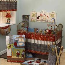 cotton tale designs pirates cove multicolor pirates 4 piece crib bedding set
