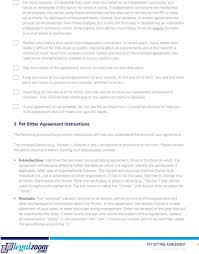 Pet Sitter Information Form Pet Sitting Agreement Guide Pdf