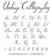 Letters By Number 500 Calligraphy Numbers Pictures Royalty Free Images Stock