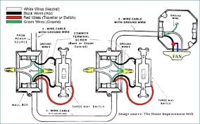 wiring diagram of a ceiling fan kanvamath org 3 Wire Thermostat Diagram at Fan Light Switch 3 Wire Diagram