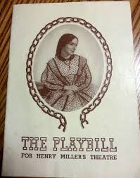 1943 The Playbill for Henry Miller's Theatre Gilbert Miller presents HELEN  HAYES Elia Kazan in Harriet Jane Seymour by co… | Helen hayes, Henry  miller, Jane seymour