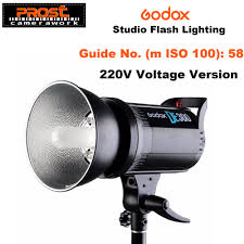 Godox Light Us 96 99 20 Off Godox De300 300w Compact Studio Flash Light Strobe Lighting Lamp Head 300ws 220v 110v Gn58 5600k In Photo Studio Accessories From