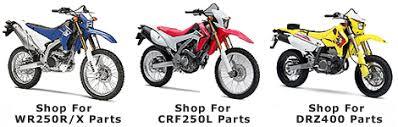 srmoto com wr250r wr250x cfr250l drz400 dual sport