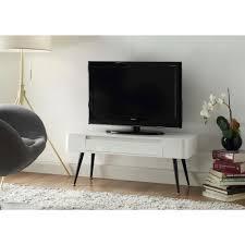 white storage console table