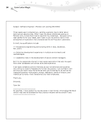 Cover Letter With Bullet Points Resume And Cover Letter Resume