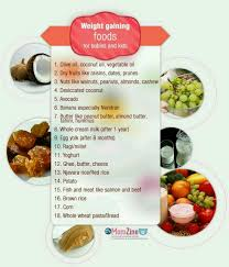Wait Gain Food Chart Weight Gain Food Chart For Babies Balanced Diet Chart With