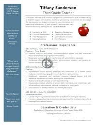 elementary teacher resume sample resume sample for teacher new teacher resume template