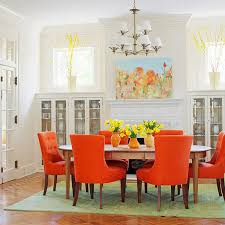 Colorful Dining Room Tables Interesting Design