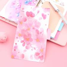 New Notebook Accessories <b>A5 A6 A7 Solid</b> Color Page Inside ...