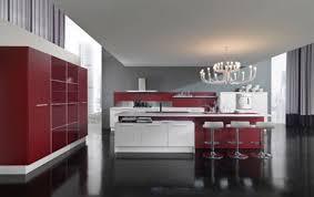 Imagenes De Cocinas Blancas Y Rojas5