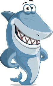 smiling shark clipart. Interesting Clipart Smiling Shark Cartoon Illustration Vector Character Suitable For Any  Project Need Graphicmama Shark Throughout Shark Clipart I