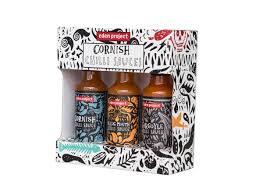 cornish chilli sauce set