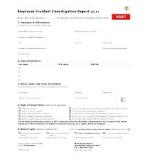 Accident Incident Form Template Vehicle Report Beautiful