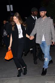 According to reports from the daily mail, the couple welcomed their. Justin Timberlake And Jessica Biel Holding Hands Nyc 2019 Popsugar Celebrity