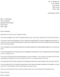 Application Letter It Support Information Technology It Cover