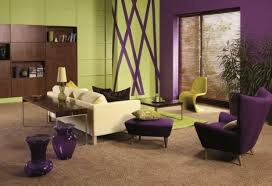 purple home d cor how to combine purple with other colors in