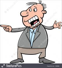 Image result for cartoon illustration of a angry man