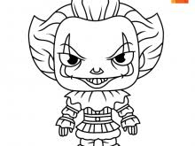 Coloring Pages Of Pennywise The Clown Pennywise Coloring Pages Clown