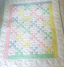 Amish Baby Quilt Traditional Nine Patch by QuiltsByAmishSpirit ... & Amish Baby Quilt Traditional Nine Patch by QuiltsByAmishSpirit Adamdwight.com
